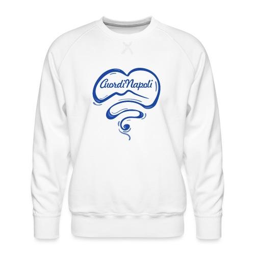 New Logo CuordiNapoli Blu - Felpa premium da uomo