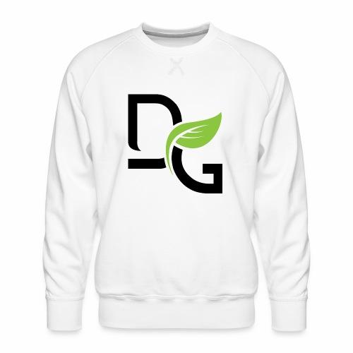 DrGreen Logo Symbol schwarz grün - Männer Premium Pullover