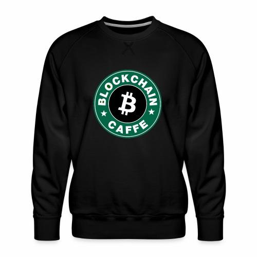 BlockChain Caffè Logo - Felpa premium da uomo