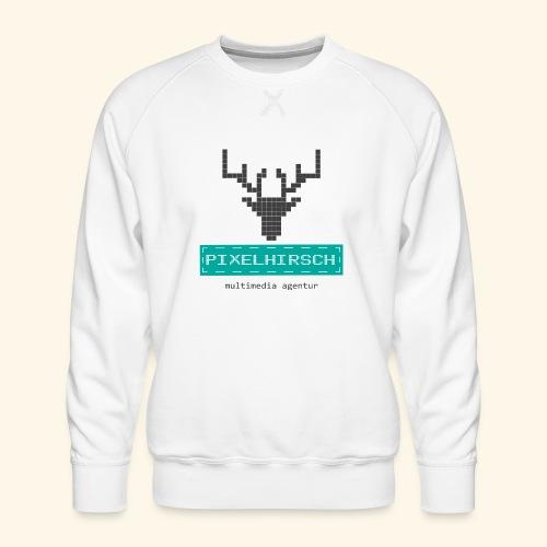 PIXELHIRSCH - Logo - Männer Premium Pullover