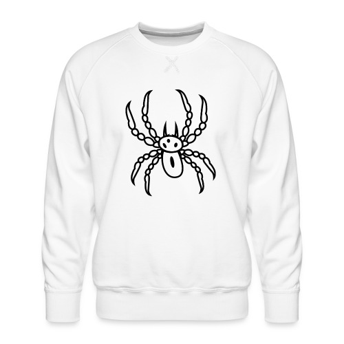 Spinne schwarz - Männer Premium Pullover