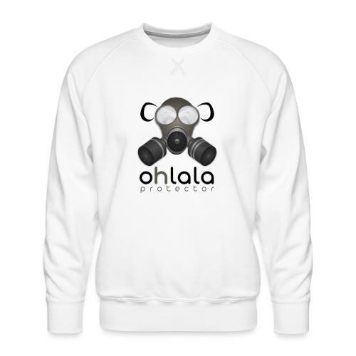 OHLALA PROTECTOR BLK - Sweat ras-du-cou Premium Homme