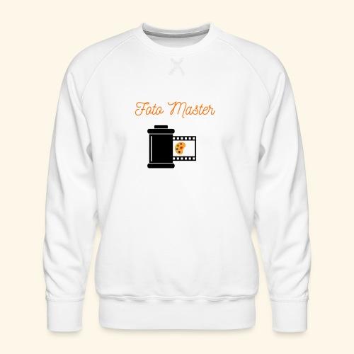 Foto Master 2nd - Herre premium sweatshirt