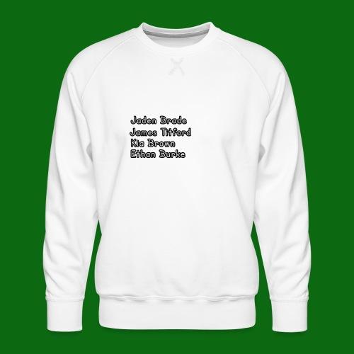Glog names - Men's Premium Sweatshirt