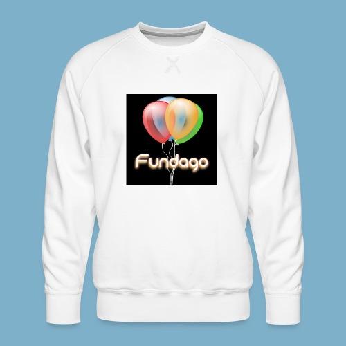 Fundago Ballon - Männer Premium Pullover