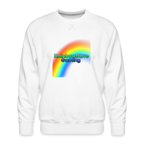 RainbowDave Gaming Logo - Men's Premium Sweatshirt