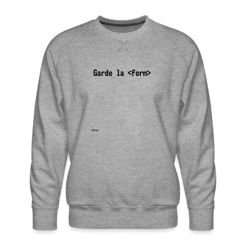 Design_dev_blague - Sweat ras-du-cou Premium Homme