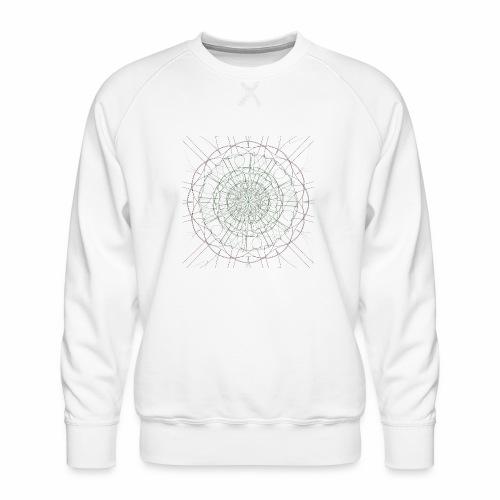 Mandala - Miesten premium-collegepaita