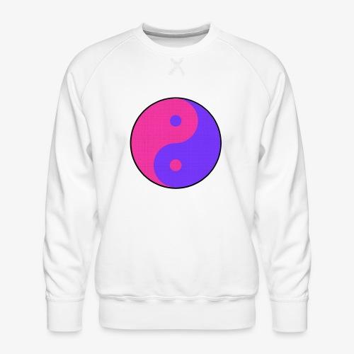 Yin Yang PinkBlue - Sudadera premium para hombre