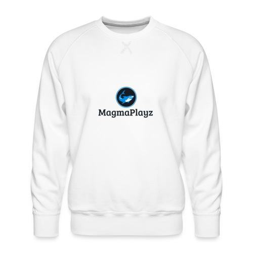 MagmaPlayz shark - Herre premium sweatshirt