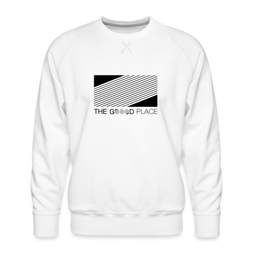 THE GOOOD PLACE LOGO - Mannen premium sweater