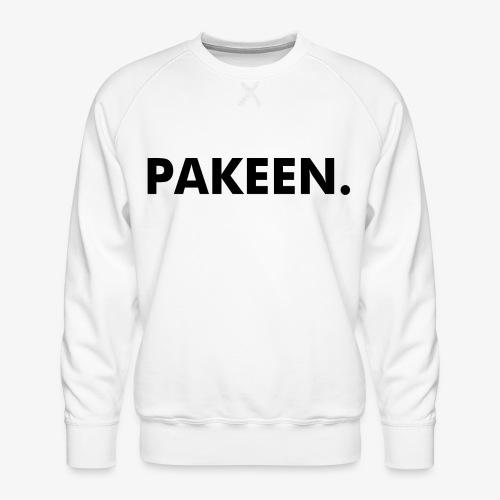 Pak Een Punt Horizontaal - Mannen premium sweater