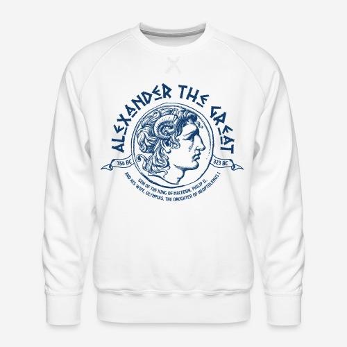 Alexander der große Mazedonien - Männer Premium Pullover