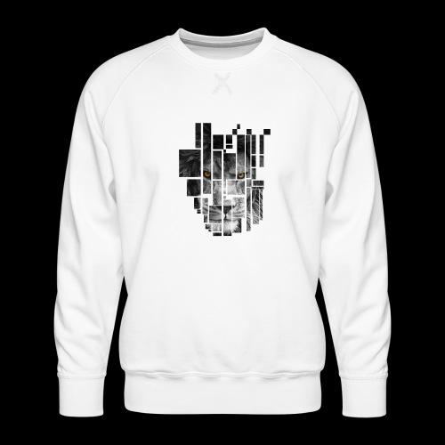 Pixel Lion Tattoo Inspire - Men's Premium Sweatshirt