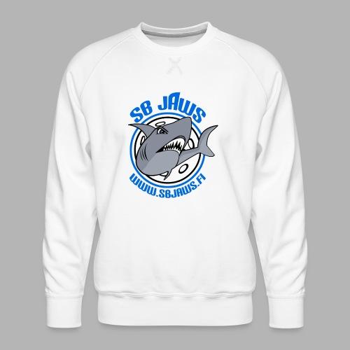 SB JAWS - Miesten premium-collegepaita