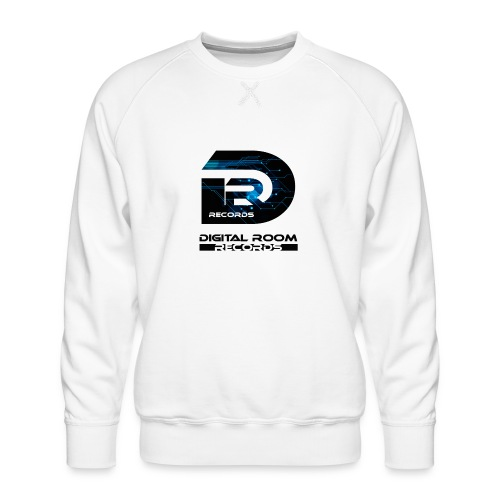Digital Room Records Official Logo effect - Men's Premium Sweatshirt