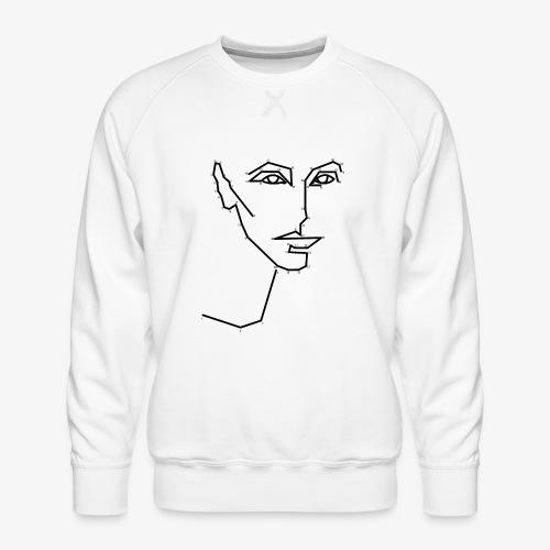Malen nach Zahlen - Männer Premium Pullover