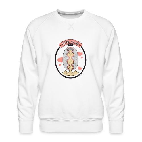 Sand Clam Clan -logokassi - Miesten premium-collegepaita