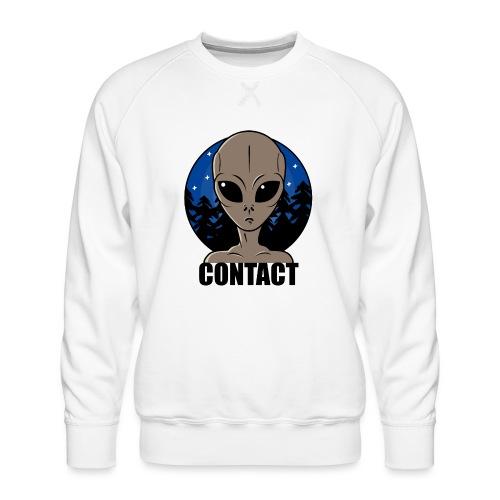 Contact Extraterrestre - Sweat ras-du-cou Premium Homme