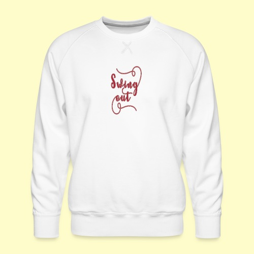 Swing Out Lindy Hop Vintage - Swing Retro - Männer Premium Pullover