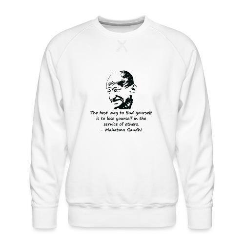 Find Yourself - Men's Premium Sweatshirt