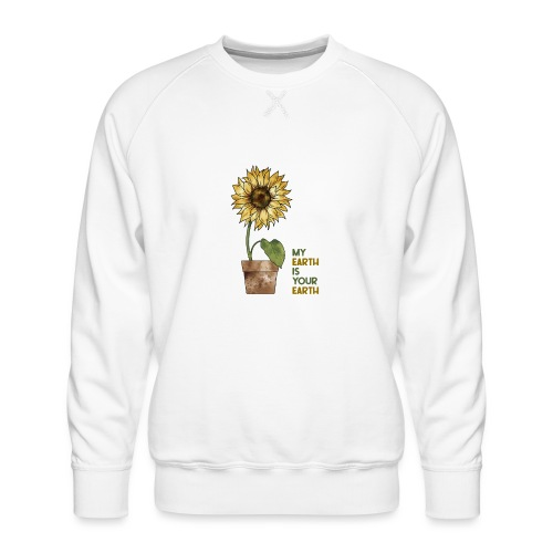 My earth is your earth - Männer Premium Pullover
