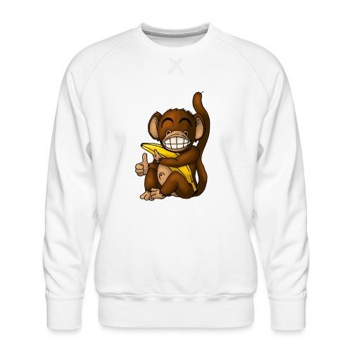 Super Fröhlicher Affe - Männer Premium Pullover