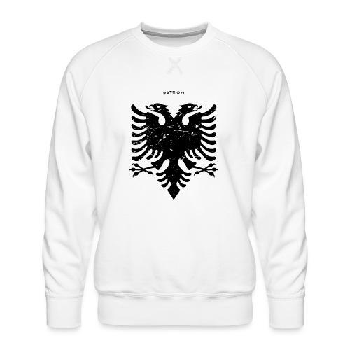 Albanischer Adler im Vintage Look - Patrioti - Männer Premium Pullover