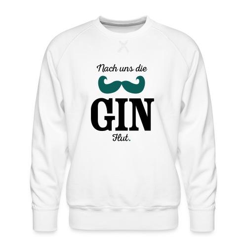 Nach uns die Gin-Flut - Männer Premium Pullover