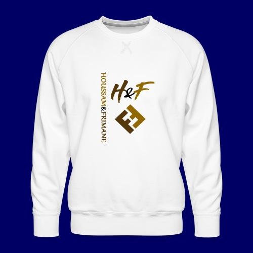 h&F luxury style - Felpa premium da uomo