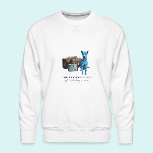 Laly Blue Big - Men's Premium Sweatshirt