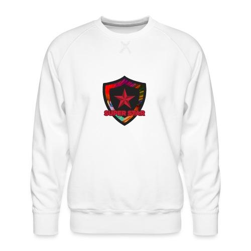Super Star Design: Feel Special! - Men's Premium Sweatshirt