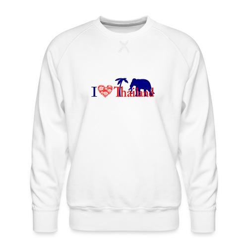 I love Thailand - Men's Premium Sweatshirt