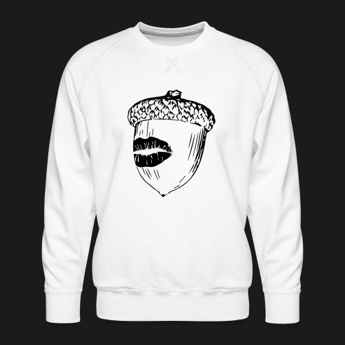 Kuss auf die Eichel [sw] - Männer Premium Pullover