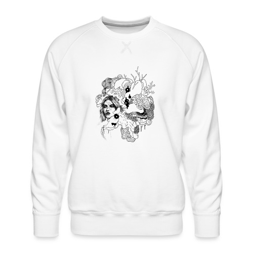 Kopf in den Wolken - Männer Premium Pullover