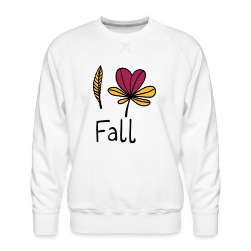 Fall in love - Männer Premium Pullover
