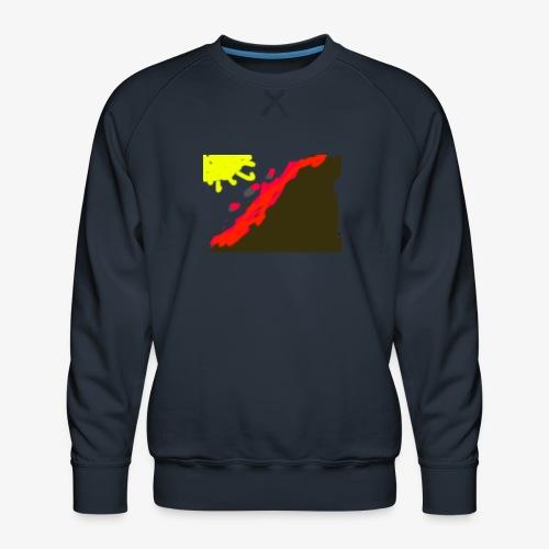 flowers - Herre premium sweatshirt