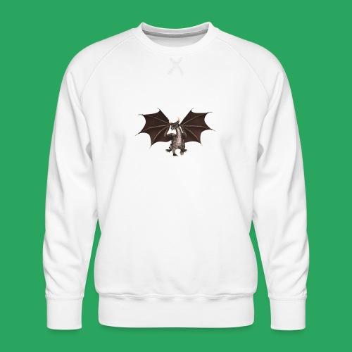 dragon logo color - Felpa premium da uomo