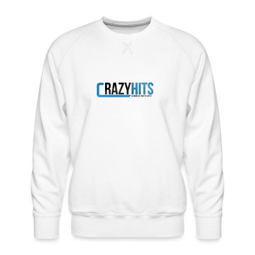 CrazyHIT - Sweat ras-du-cou Premium Homme