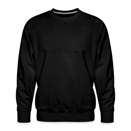 Clean - Männer Premium Pullover