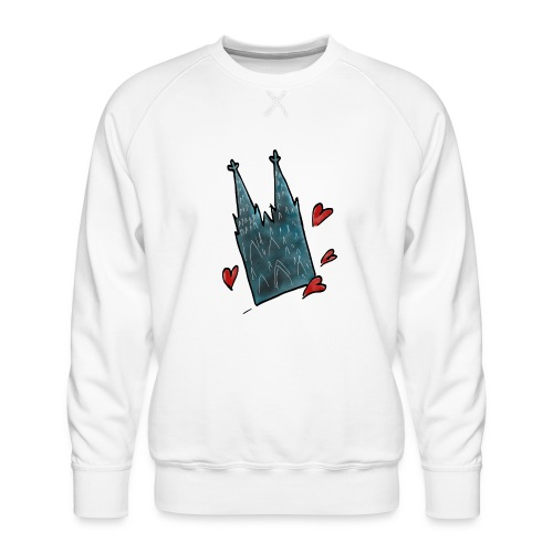 Kölsche Sticker Dom - Männer Premium Pullover