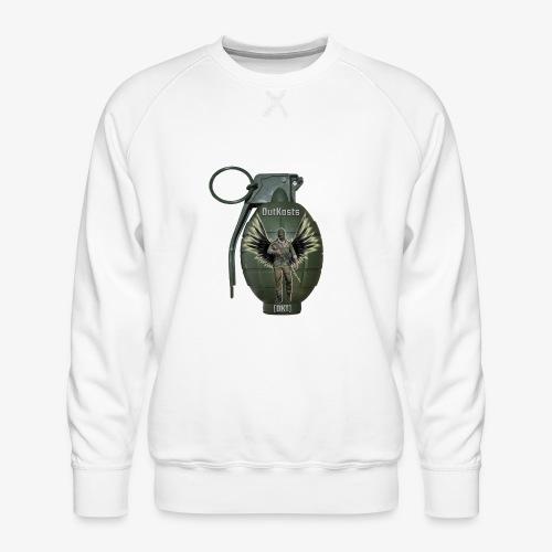grenadearma3 png - Men's Premium Sweatshirt