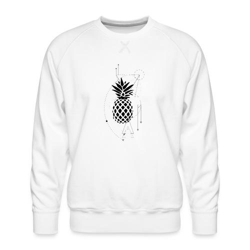 Kleiner Designer Ananas - Männer Premium Pullover