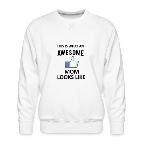 Awesome Mom - Männer Premium Pullover
