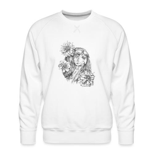 Dahlien Cavalier - Männer Premium Pullover