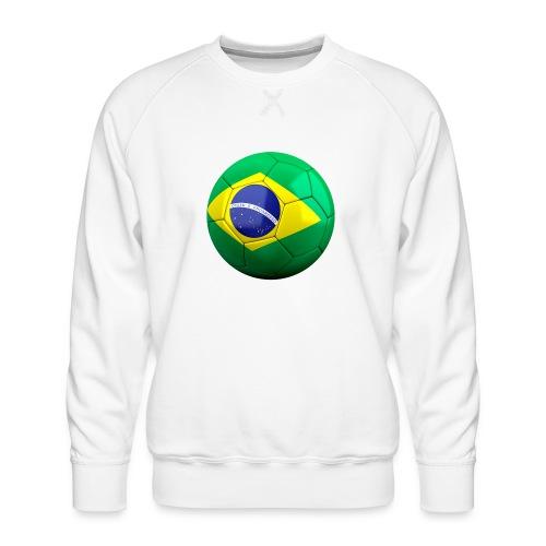 Bola de futebol brasil - Men's Premium Sweatshirt