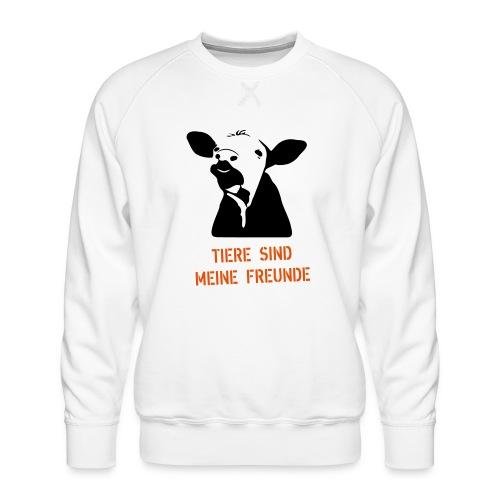 tiere sind meine freunde - Männer Premium Pullover
