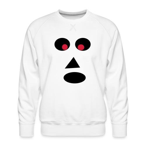 Ansigt - Herre premium sweatshirt