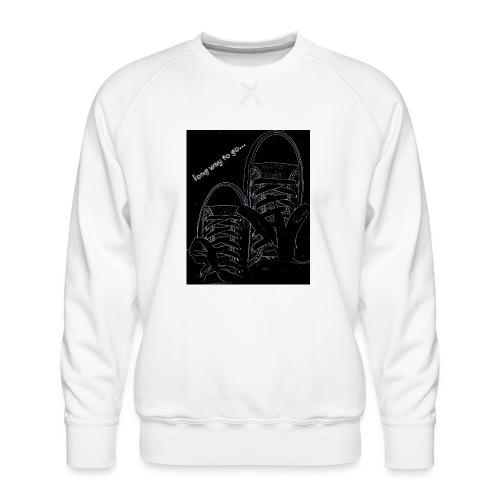 Long way to go - Men's Premium Sweatshirt