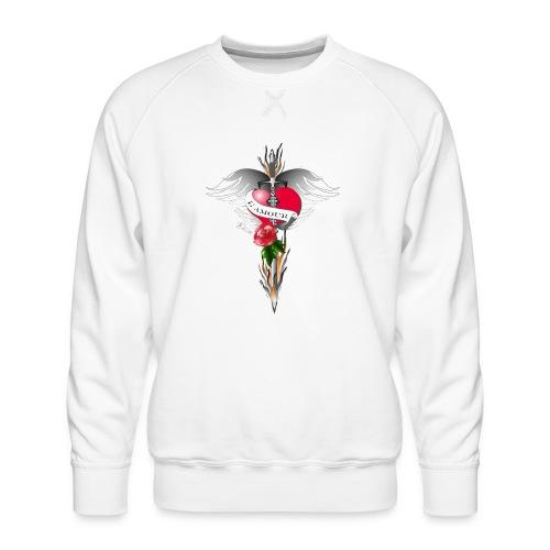L' Amour - Die Liebe in Flammen - Männer Premium Pullover